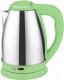 Электрочайник Irit IR-1337 (зеленый) -