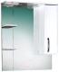 Шкаф с зеркалом для ванной Акваль Виола 75 (AV.04.75.00.R) -