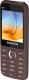 Мобильный телефон Maxvi K15 (коричневый) -
