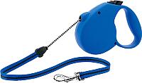 Поводок-рулетка Flexi Standart FLX034 (XS, синий) -