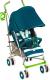 Детская прогулочная коляска Happy Baby Cindy (морская волна) -