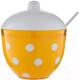 Сахарница Berossi Marusya ИК 23118000 (оранжевый) -