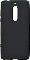 Чехол-бампер Case Pudding для Nokia 5 (черный) -