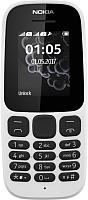 Мобильный телефон Nokia 105 Dual 2017 (белый) -