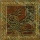 Плитка PiezaRosa Империал 753763 (100x100, коричневый) -