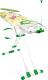Гладильная доска Ника Валенсия 1 / НВ1 (листочки) -
