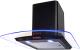 Вытяжка купольная Germes Alt Led Sensor 50 RGB (черный) -