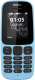 Мобильный телефон Nokia 105 Dual 2017 (голубой) -