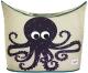 Корзина для белья 3 Sprouts Фиолетовый осьминог / 00013 -