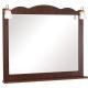 Зеркало для ванной Аква Родос Классик 100 (орех итальянский, с подсветкой) -