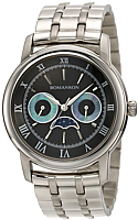 Часы мужские наручные Romanson TM2616FMWBK -