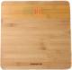 Напольные весы электронные Polaris PWS 1847D Bamboo -