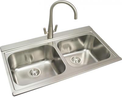 Мойка кухонная Smeg LI92SG - общий вид