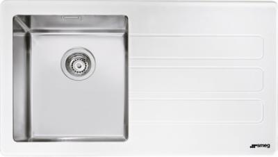 Мойка кухонная Smeg LMN1VBD - общий вид
