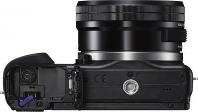 Беззеркальный фотоаппарат Sony NEX-3NL (Black) - вид снизу