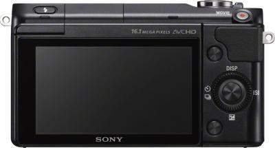 Беззеркальный фотоаппарат Sony NEX-3NL (Black) - дисплей