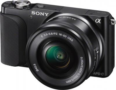 Беззеркальный фотоаппарат Sony NEX-3NL (Black) - общий вид