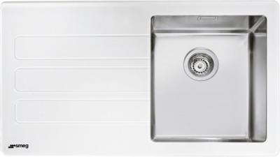 Мойка кухонная Smeg LMN1VBS - общий вид