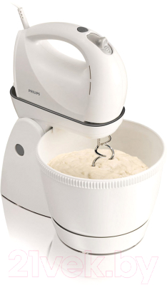 Миксер стационарный съемный Philips HR1565/40 (White)