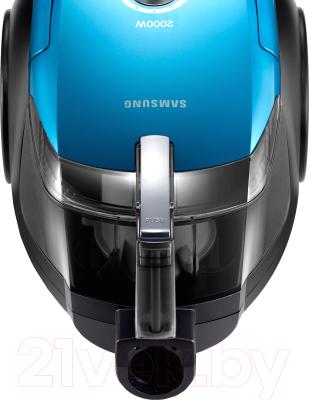 Пылесос Samsung VC20DVNDCNC/EV (голубой)