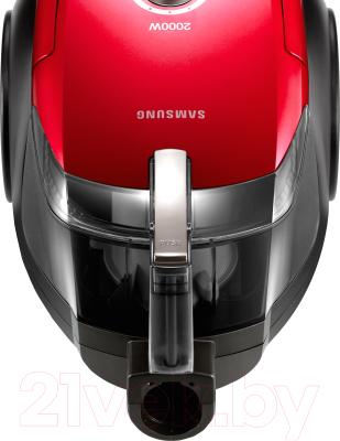 Пылесос Samsung VC20DVNDCRD/EV (красный)