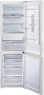 Холодильник с морозильником Samsung RL63GCBSW1/BWT - с открытой дверью