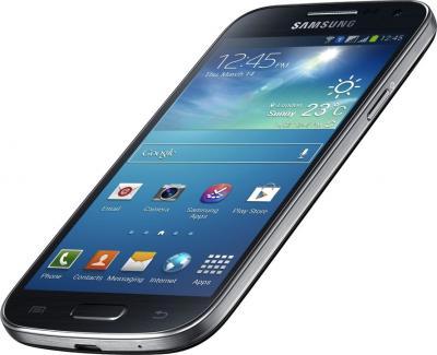 Смартфон Samsung Galaxy S4 mini Dual / I9192 (черный) - общий вид