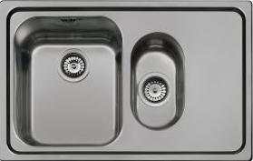 Мойка кухонная Smeg SP7915D-2 - общий вид