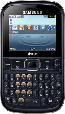 Мобильный телефон Samsung S3332 Ch@t 333 (Black GT-S3332CKASER) - общий вид
