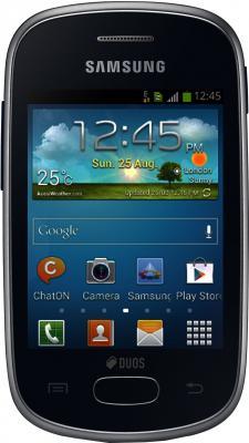 Смартфон Samsung S5282 Galaxy Star Duos (Black GT-S5282LKASER) - общий вид