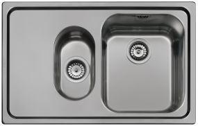 Мойка кухонная Smeg SP7915S-2 - общий вид