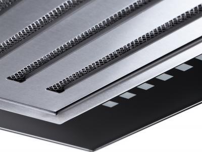 Вытяжка Т-образная Pyramida HEF 22 (P-600 MM) - жироулавливающий фильтр с декоративной решеткой из нержавейки