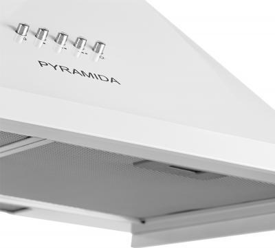 Вытяжка купольная Pyramida N 60 (белый) - фильтр