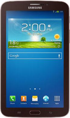 Планшет Samsung Galaxy Tab 3 8.0 16GB 3G Brown (SM-T311) - фронтальный вид