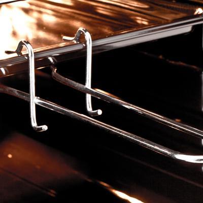 Электрический духовой шкаф Pyramida F 60 TMR (черный) - держатель