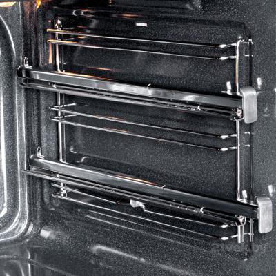 Электрический духовой шкаф Pyramida F 84 EIX-P (нержавеющая сталь) - направляющие