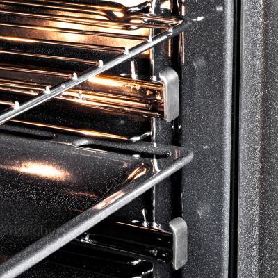 Электрический духовой шкаф Pyramida F 84 EIX-P (черный) - решетка