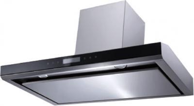 Вытяжка Т-образная Backer CH90E-T2H160 (Inox-Black Glass) - общий вид