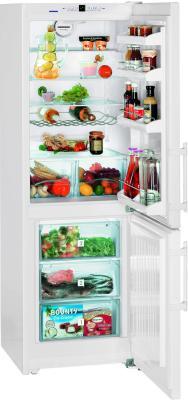 Холодильник с морозильником Liebherr C 3523 - с открытой дверью