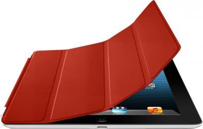 Чехол для планшета Apple iPad Smart Cover Red (MD304ZM/A) - опция гибкой обложки