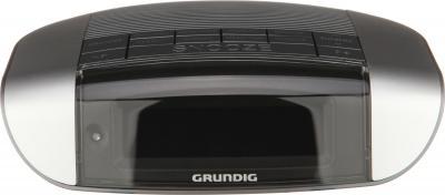 Радиочасы Grundig Sonoclock 660 PLL (Silver-Titanium) - фронтальный вид