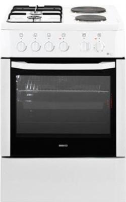 Кухонная плита Beko CSS 54010 GW - общий вид
