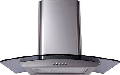 Вытяжка купольная Backer QD60A-G6L120 (50, нержавейка/темное стекло) - общий вид