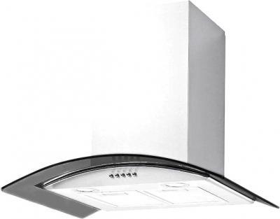 Вытяжка купольная Backer QD60A-G6L120 (White-Dark Glass 50) - общий вид