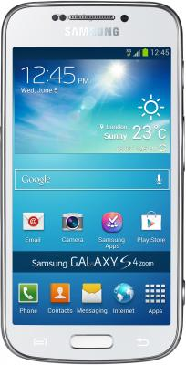 Смартфон Samsung C1010 Galaxy S4 zoom (White) - общий вид