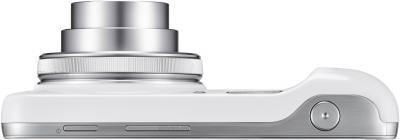 Смартфон Samsung C1010 Galaxy S4 zoom (White) - вид сверху