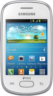 Смартфон Samsung S5282 Galaxy Star Duos (White) - общий вид