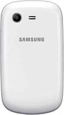 Смартфон Samsung S5282 Galaxy Star Duos (White) - задняя панель