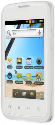 Смартфон Fly IQ238 Jazz (White) - вид сбоку
