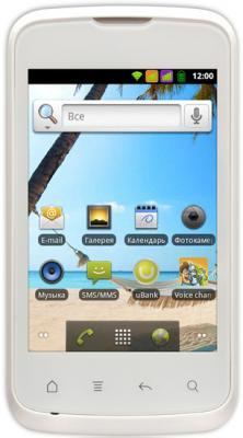 Смартфон Fly IQ238 Jazz (White) - общий вид